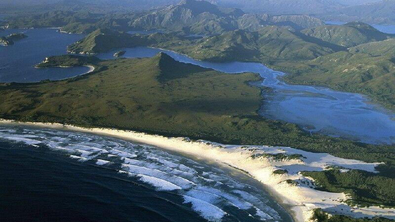 Тасмания (Австралия) - климат и географическое положение