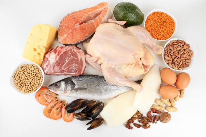 Какие продукты содержат белок и сколько грамм