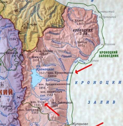 О новой карте «Камчатский край» | Рубрика Читаю все подряд ...