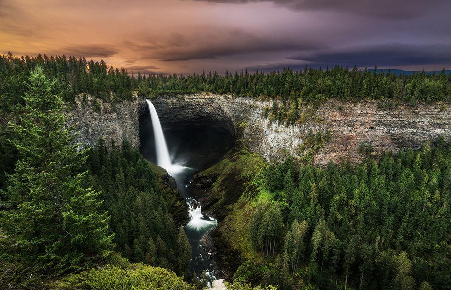 Водопад Атабаска — National Geographic Россия