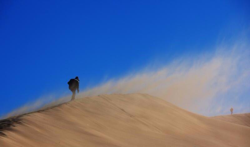 Ветер в пустыне : Геология