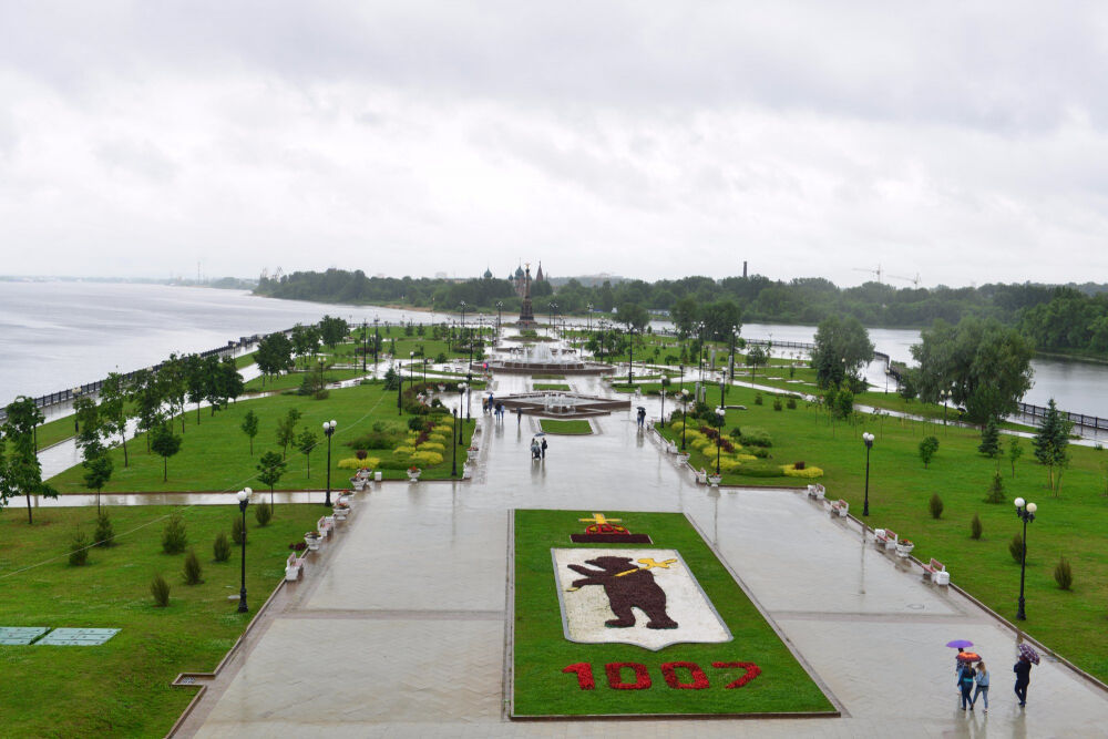 Набережная Ярославля (Yaroslavl Embankment), Ярославль — где ...