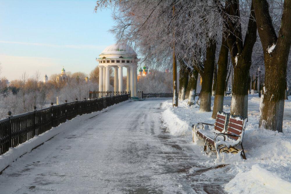 Ярославль. Зима. :: Gordon Shumway – Социальная сеть ФотоКто