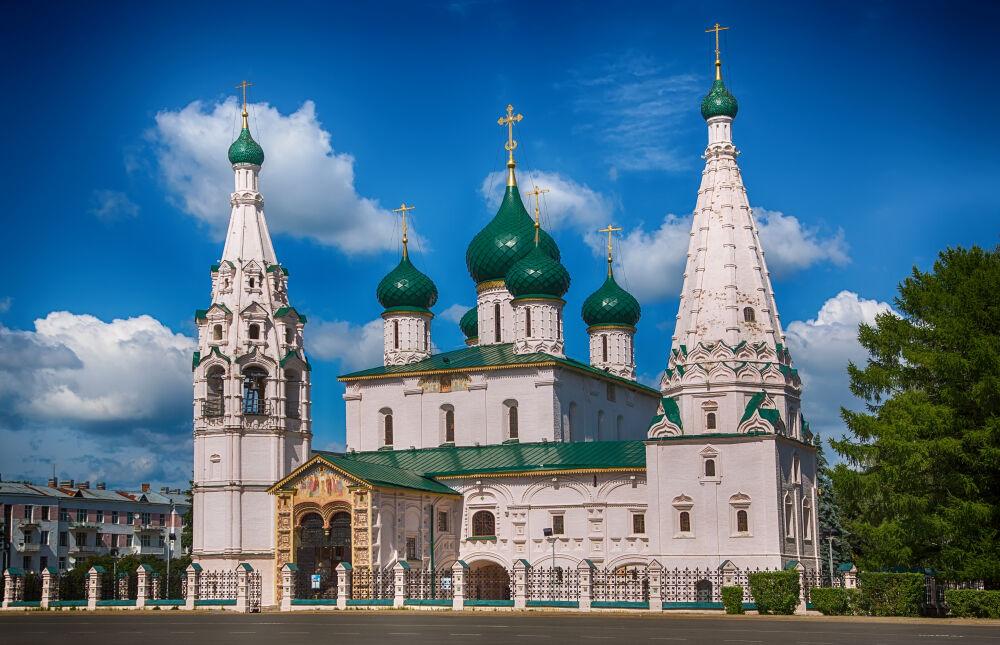 Церковь Ильи Пророка (Ярославль) — Википедия