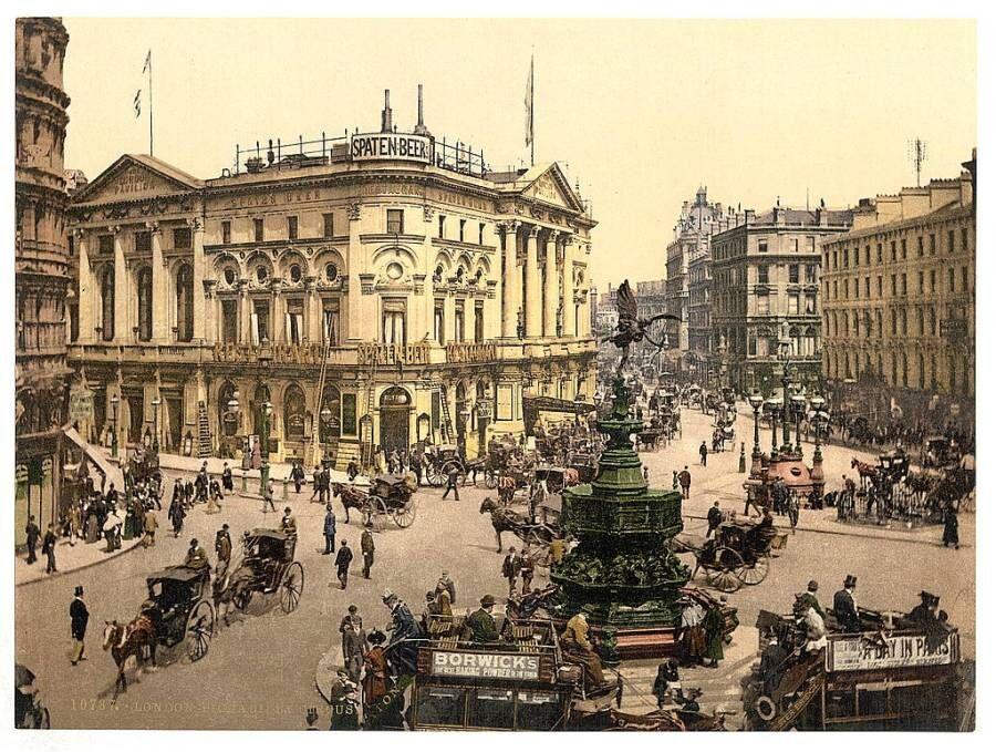 Ретро фотографии. Старый Лондон. Англия в 1890-1900 годах   Newpix ...