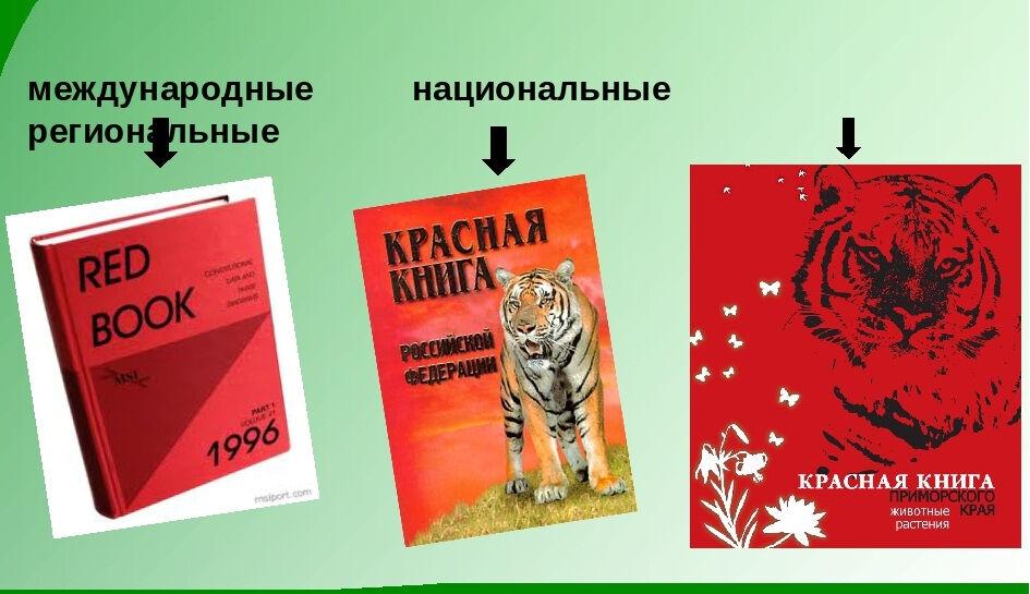 занесенные в красную книгу россии