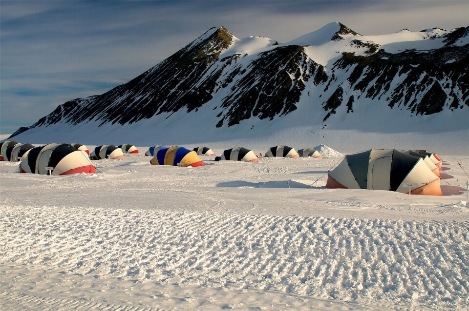 Union Glacier Camp - Icetrek Polar Expeditions