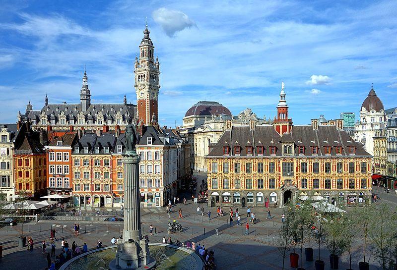 Lille (Лилль), Франция - достопримечательности, путеводитель по городу