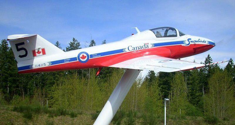 Canadair Tutor - Comox Air Force Museum