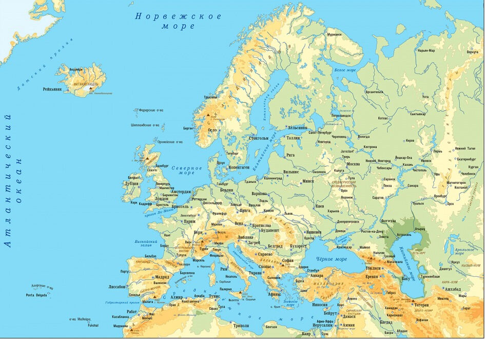 национальный состав европы (главный ключ)