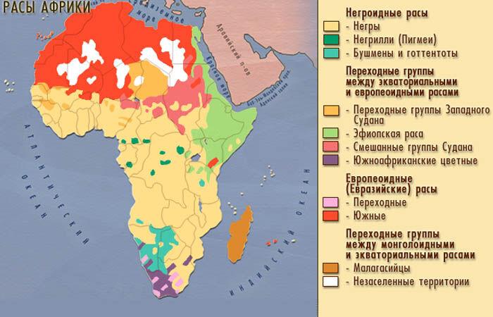 африка во второй половине 20 века