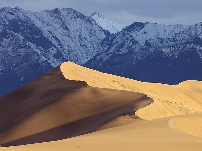 Чарские пески. Пустыня в Сибири