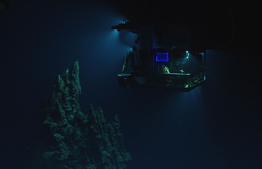 Видеотрансляция со дна Марианской впадины — National Geographic Россия