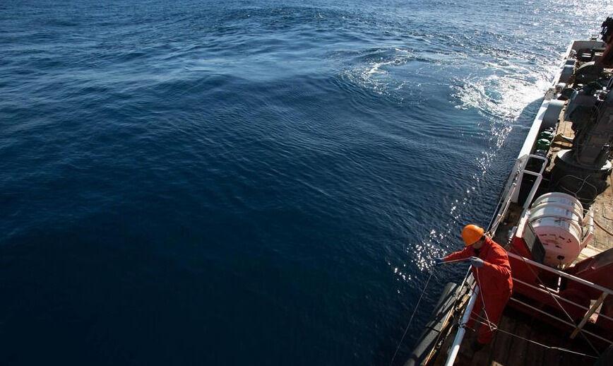 Исследование океана -- На борту китайского научно-исследовательского ...