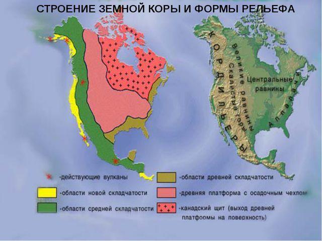 Разработка урока по географии на тему Рельеф Северной Америки для ...