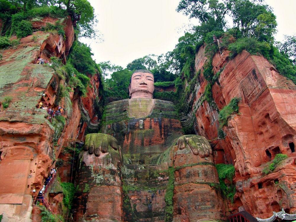 Памятники Китая - Статуя Будды в Лэшане | Интернет журнал - туризм и ...