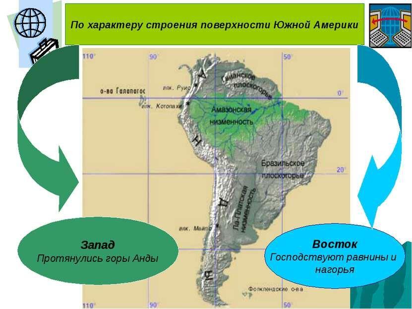 Презентация Рельеф и полезные ископаемые Южной Америки - скачать ...