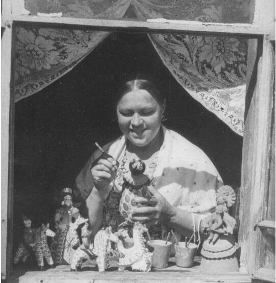 современные мастера дымковской игрушки