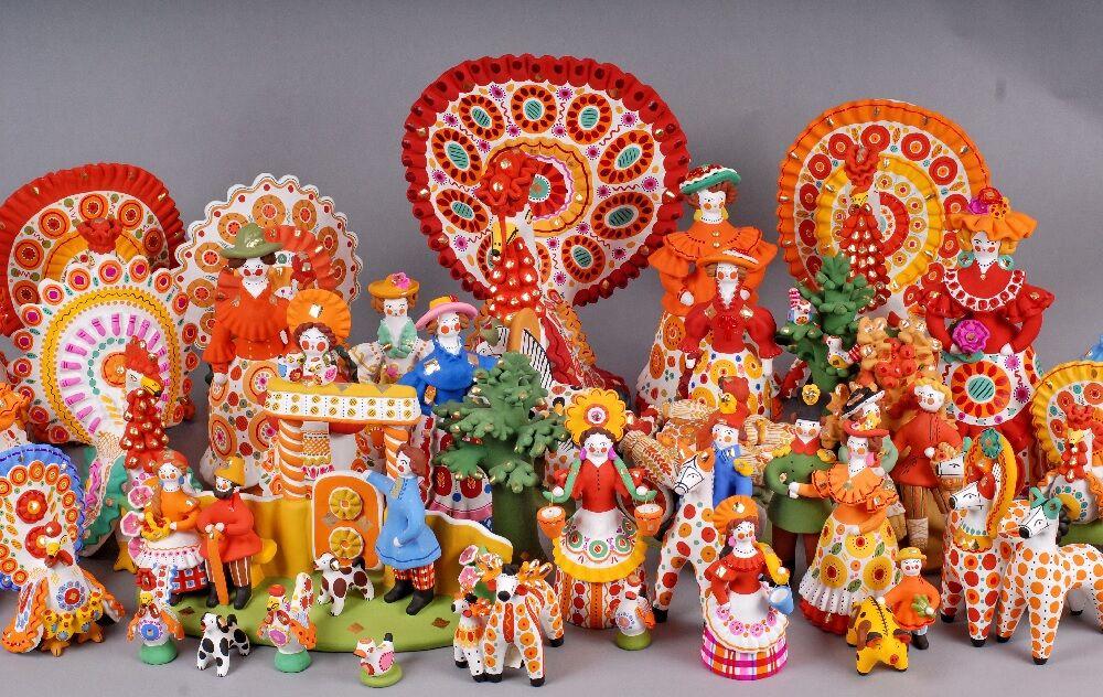Дымковская игрушка: народный промысел — Щи.ру