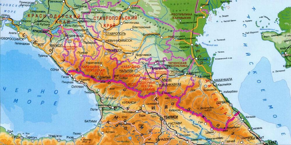 континент россии