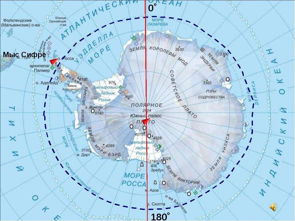 Географическое положение. Открытие и исследование Антарктиды ...