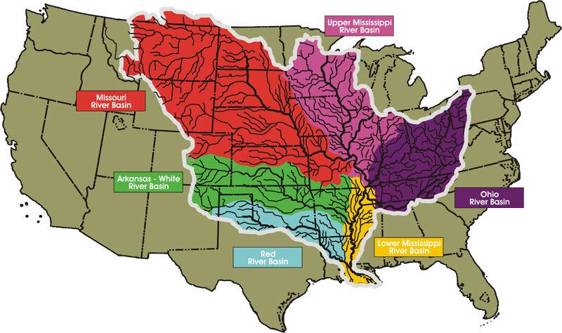 В какой стране и где находится река Миссисипи? :: SYL.ru