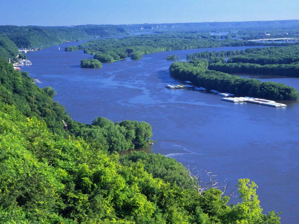 Картинка Миссисипи - великая река Северной Америки » Реки » Природа ...