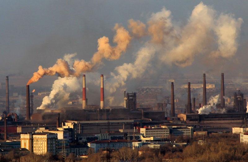 заводы дымят трубами | Владимир Путин - бог солнца!