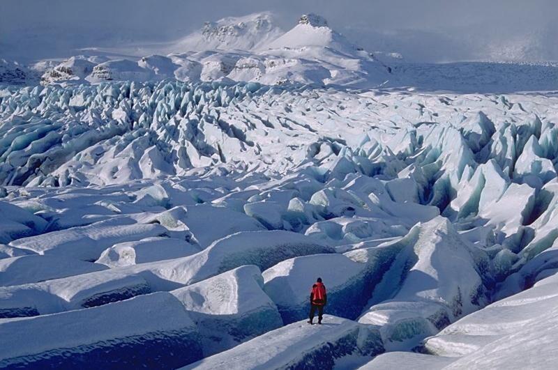 Ледяной покров Антарктиды | Мир Знаний