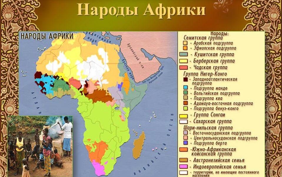 Презентация на тему: НАСЕЛЕНИЕ АФРИКИ. Размещение населения Африка ...