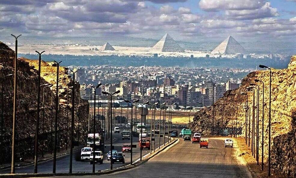 Пирамиды - Каир, Египет.