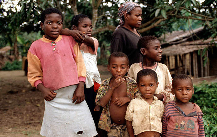 Происхождение центральноафриканской (пигмейской) расы - Антропогенез.РУ
