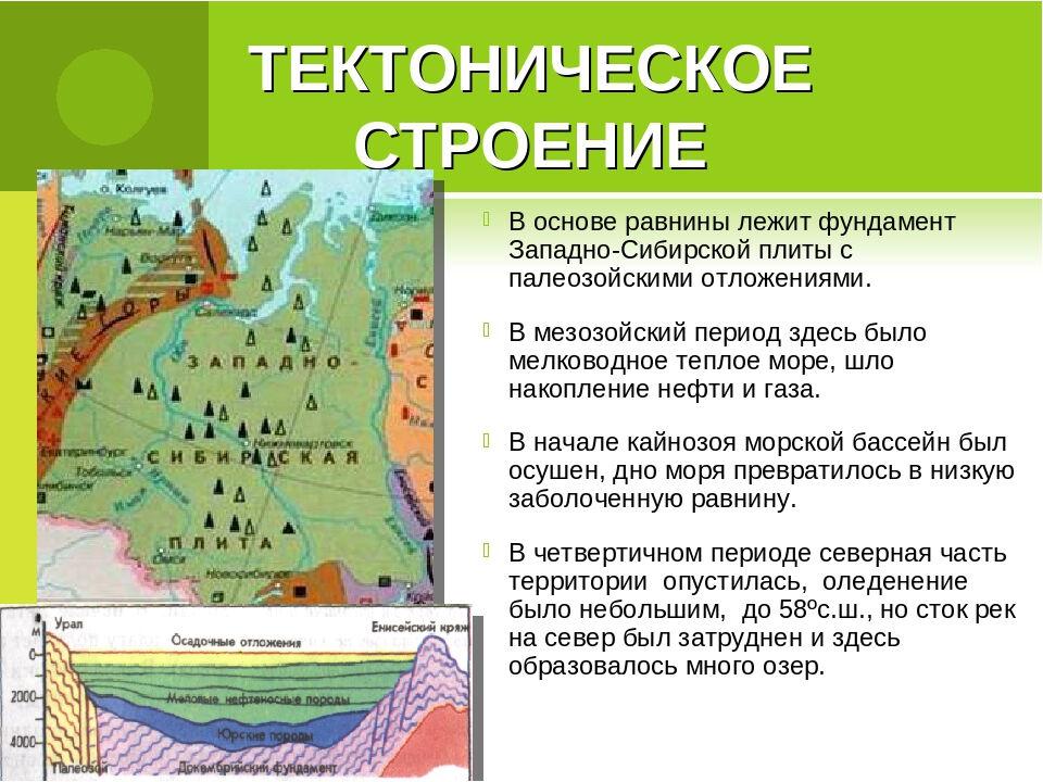 низменность на карте россии