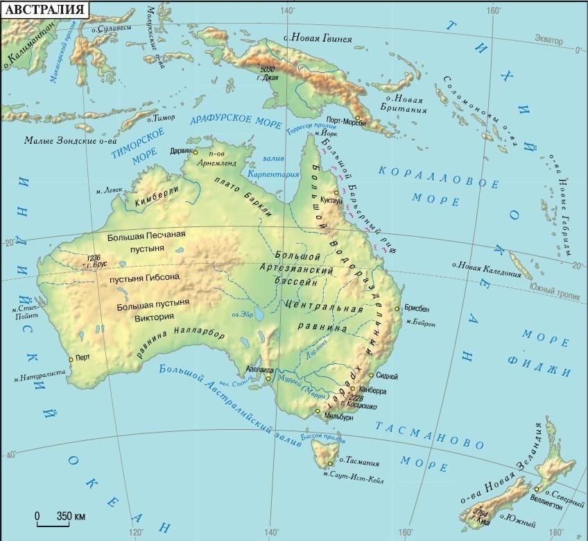 австралия климат