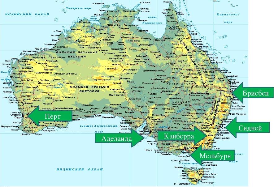 численность населения австралии