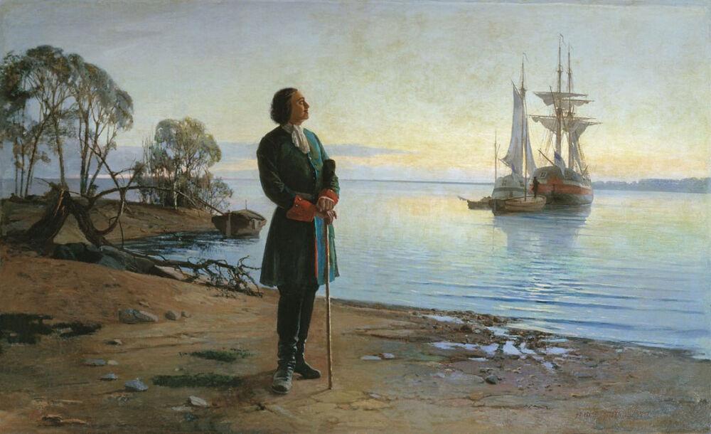 История Российского флота: «Флот Петра I» - Исторический портал