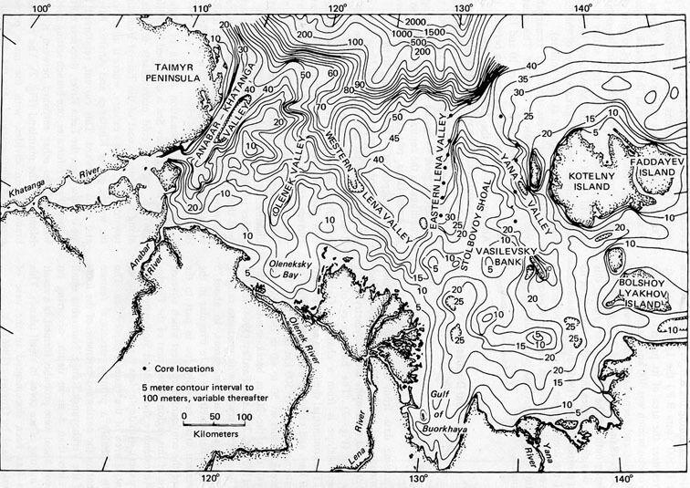 острова в северном ледовитом океане