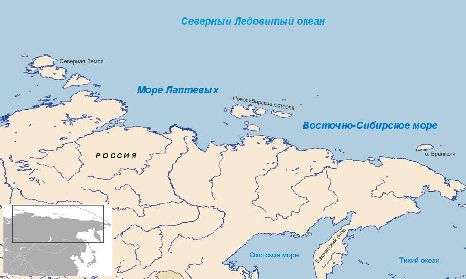 море лаптевых на карте (главный ключ)