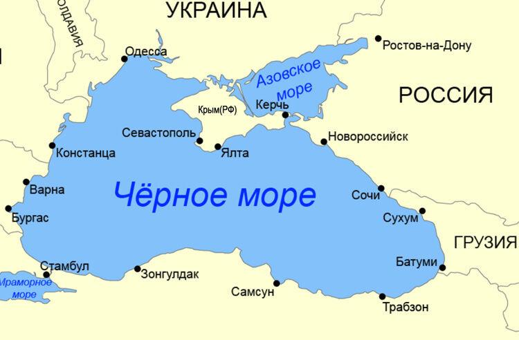 Чем отличается Азовское море от Черного моря | В чем разница