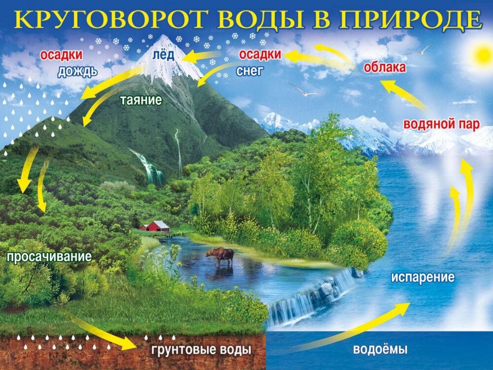 Круговорот воды в природе. Что нам говорят и как это соотносится с ...