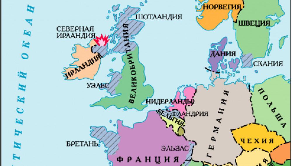 2. Как формировалась политическая карта Европы?