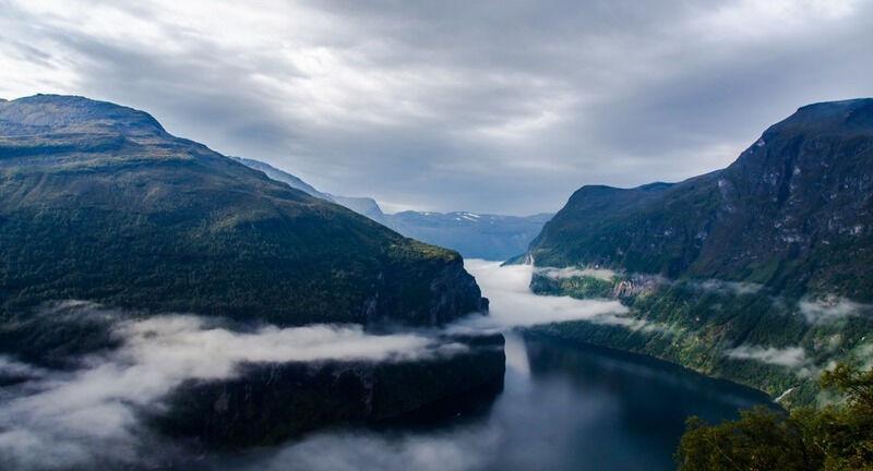 Вдоль северных морей. Дорогами Норвежского моря / Отзывы о Норвегии ...
