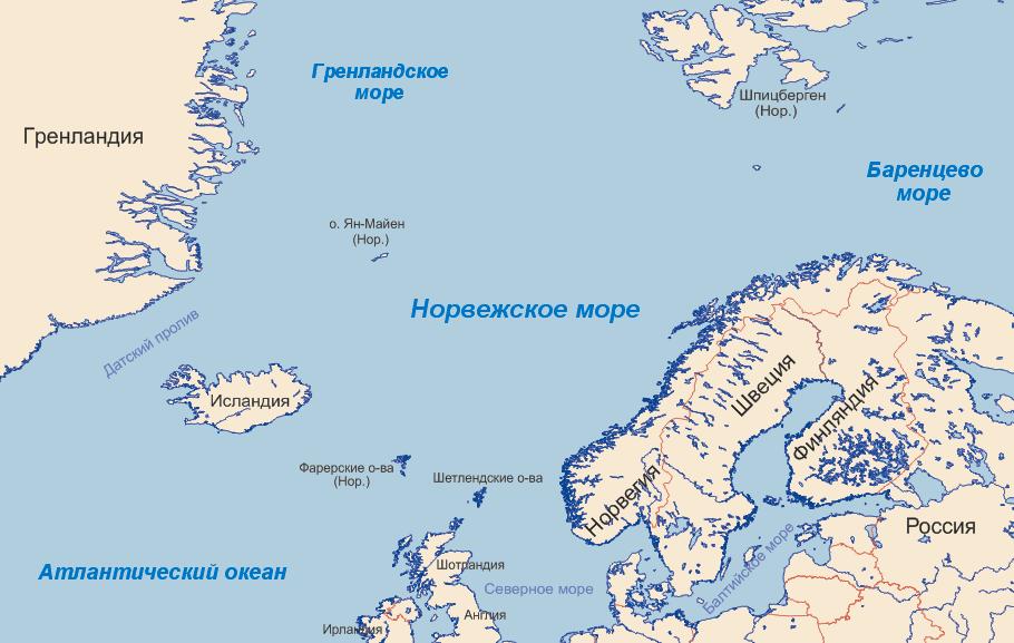 особенности северного моря (главный ключ)