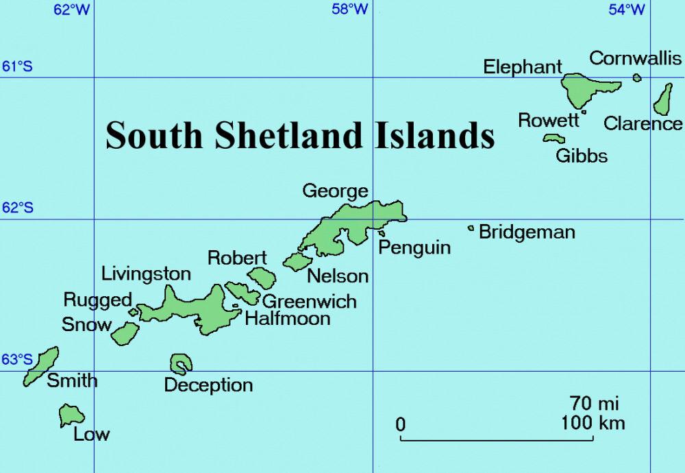 Южные Шетландские острова — Википедия