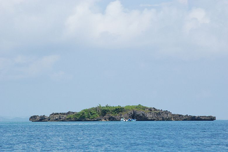 8. Крокодиловый остров, Филиппины - 12 островов самой необычной формы
