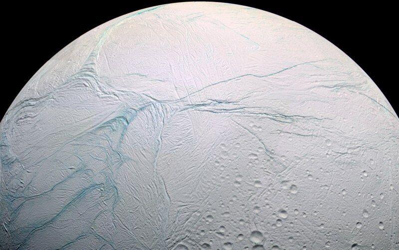 Энцелад — ледяной спутник Сатурна (23 фото) / Selfire — блог с историями