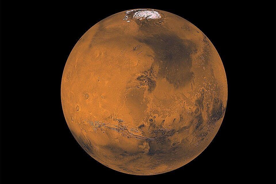 Марс оказался планетой-мигрантом