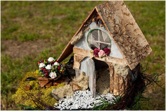 Миниатюры из дерева своими руками: красивый деревяный домик