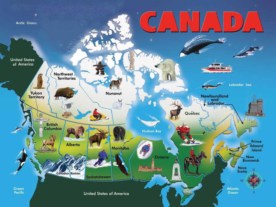 Интересные факты о Канаде