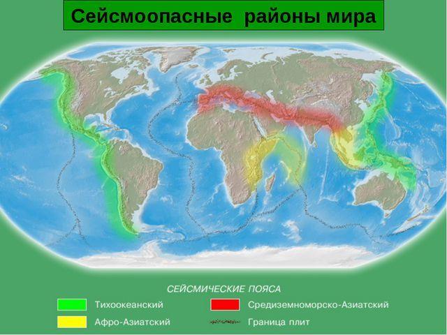 Презентация по ОБЖ на тему Землетрясения (7 класс)